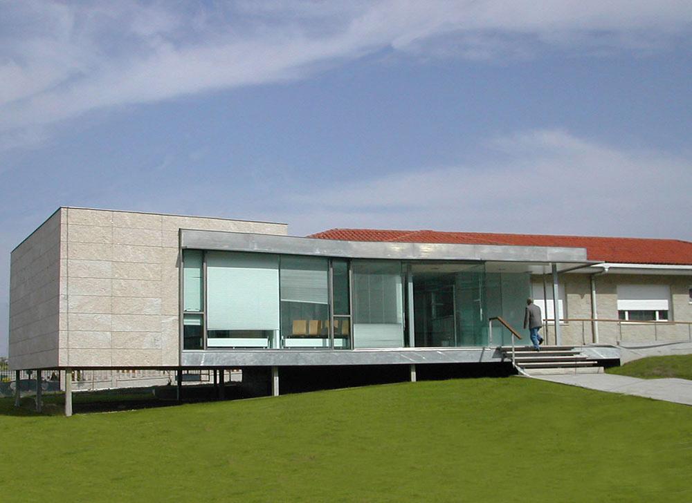 Ampliaci n centro de salud antonio cominges arquitecto vigo - Arquitectos vigo ...